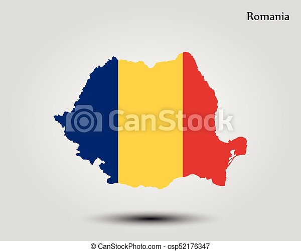 Map Of Romania Vector Illustration World Map