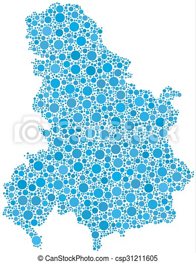 Montenegro On Europe Map.Map Of Serbia And Montenegro Decorative Map Of The State Union Of