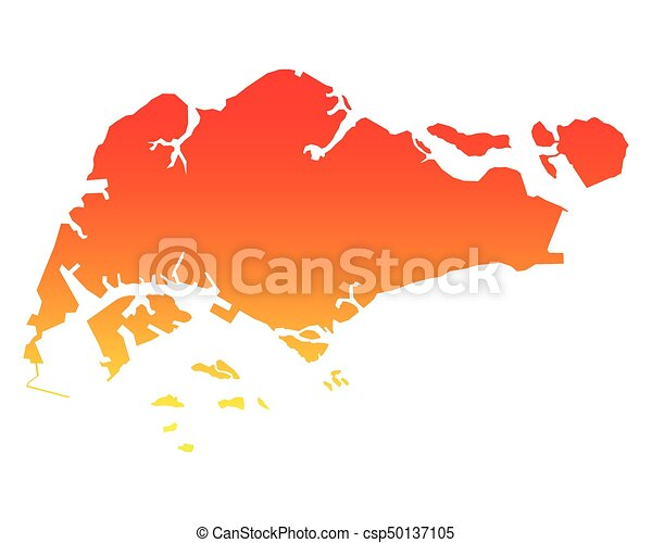 Map of singapore vector clipart - Search Illustration, Drawings and ...