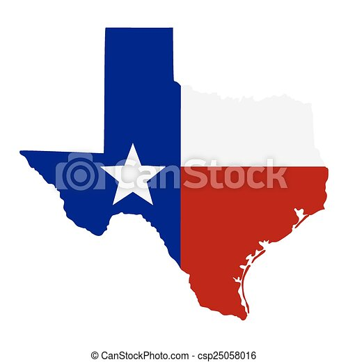 map of the u s state of texas csp25058016