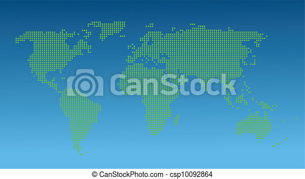 Map of the World  - csp10092864