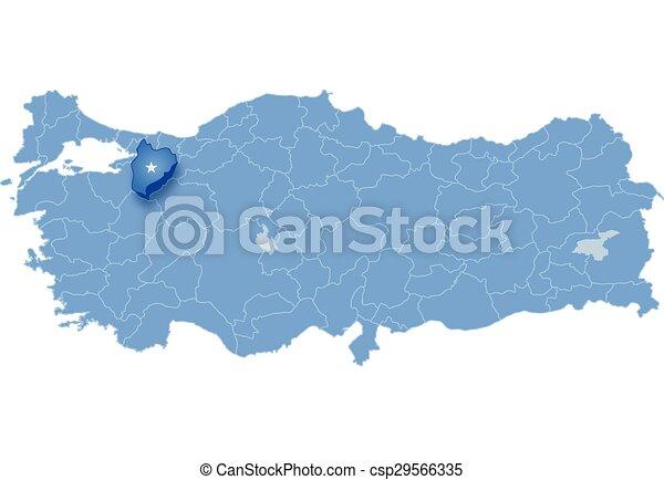 Map of turkey bilecik Map of turkey where bilecik province