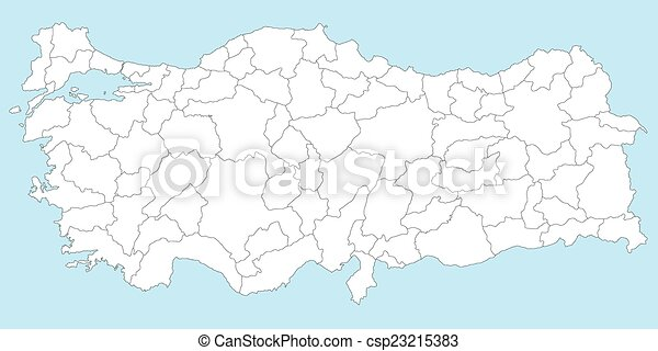 Map of turkey. Large and detailed maps of all turkish regions ...
