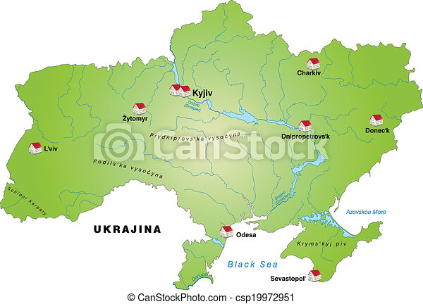 Dnipropetrovsk map Vector Clip Art Illustrations 31 Dnipropetrovsk
