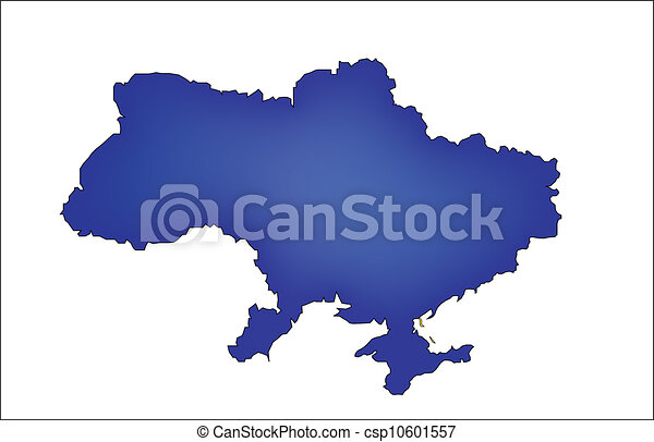 Map of ukraine with countries borders blue map of ukraine map of ukraine with countries borders csp10601557 gumiabroncs Gallery
