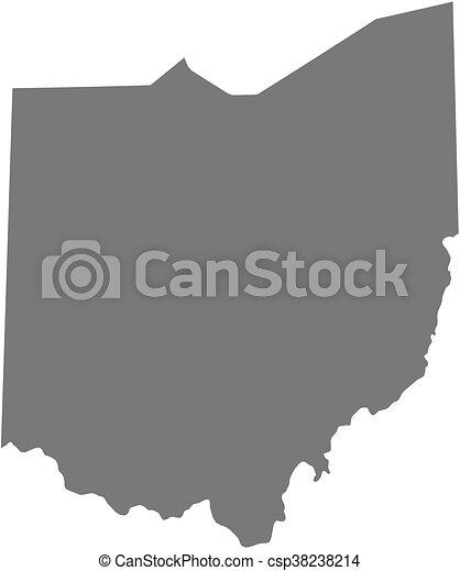Ohio United States Map.Map Ohio United States Map Of Ohio A Province Of United States