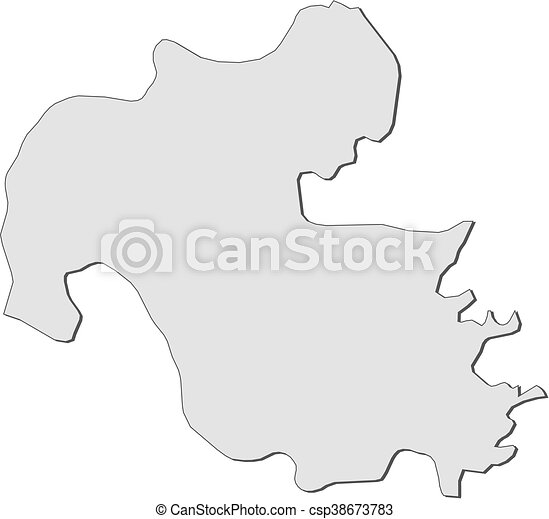 Map oita japan Map of oita a province of japan vector Search