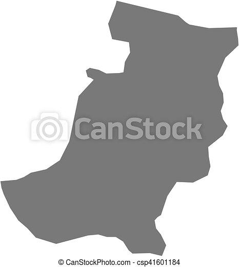 Map sakarya turkey Map of sakarya a province of turkey vector