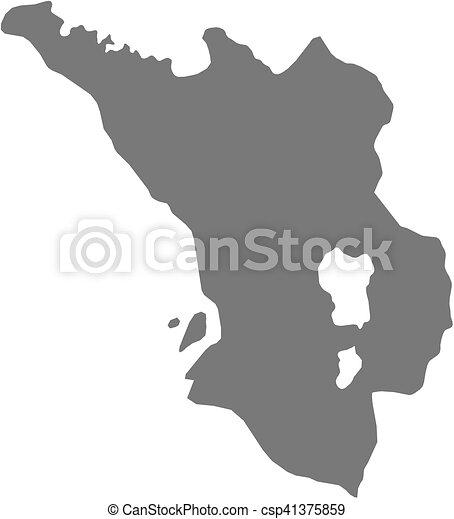 Map selangor darul ehsan malaysia Map of selangor darul