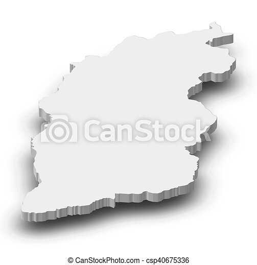 Shanxi China Map.Map Shanxi China 3d Illustration Map Of Shanxi A Province Of
