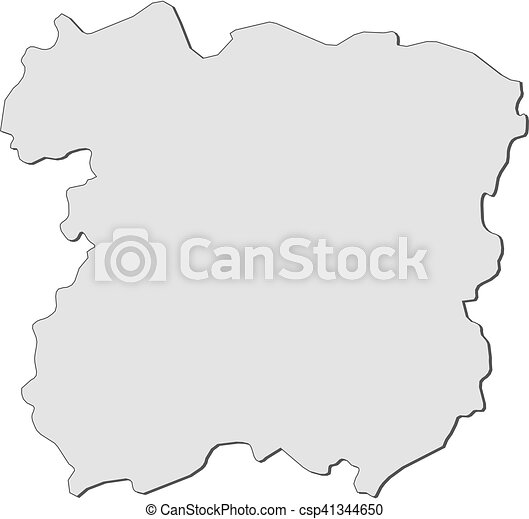Map siauliai lithuania Map of siauliai a province of clipart