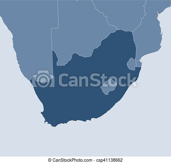 Map south africa map of south africa and nearby countries south map south africa csp41138662 gumiabroncs Image collections