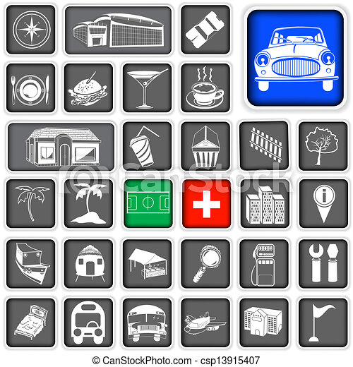 Map squared icons - legend. A collection of legends for ...