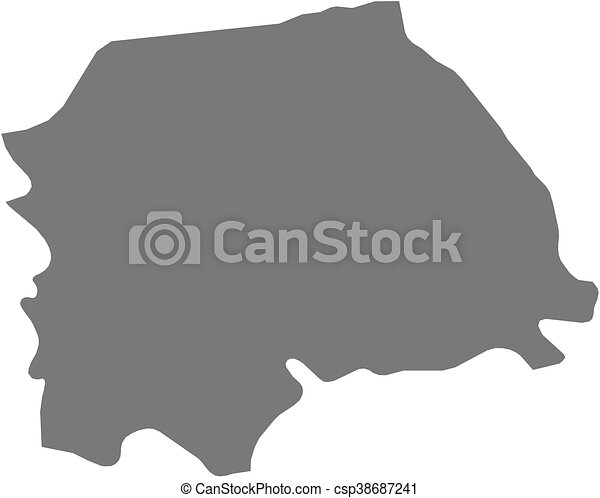 Map suceava romania Map of suceava a province of eps vector