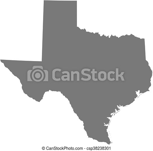Map Of Texas United States.Map Texas United States