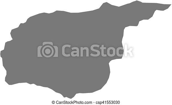 Map - tunceli (turkey) Map of tunceli, a province of turkey.