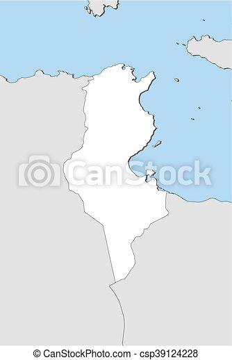 Map tunisia map of tunisia and nearby countries tunisia is map tunisia csp39124228 gumiabroncs Image collections
