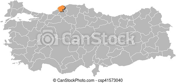 Map turkey bartin Map of turkey with the provinces eps
