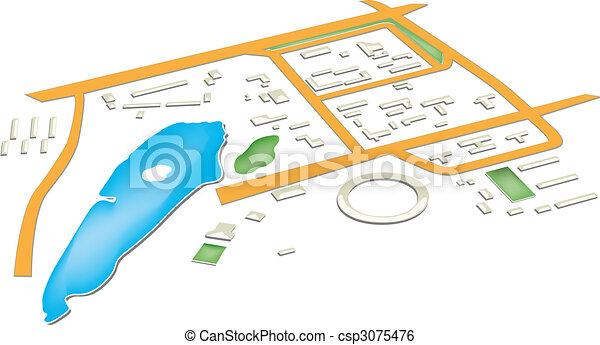 Mapa - csp3075476