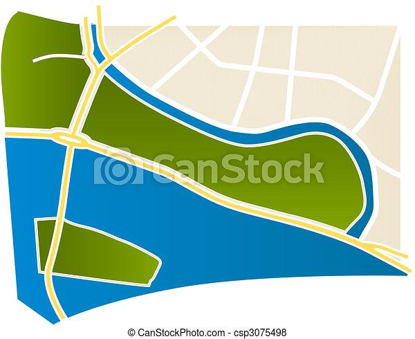 Mapa - csp3075498