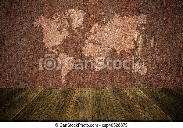 Textura De Pared Oxidada Metalúrgica Estilo De Superficie