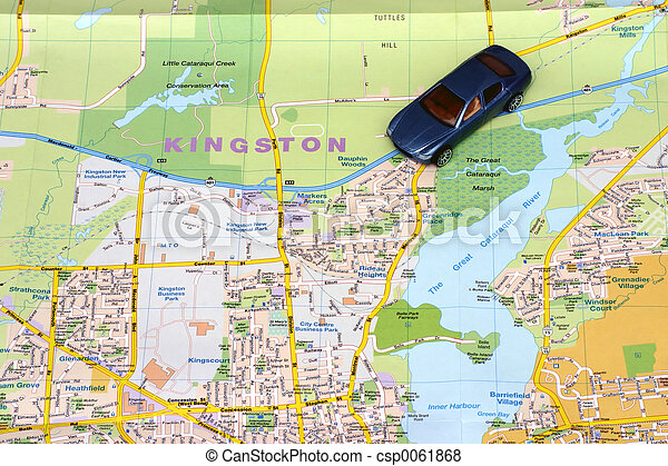 mapa, kingston - csp0061868