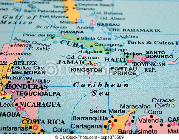 caraibas mapa Mapa, mar do caribe. Mapa, caraíbas, countries., mar, américa central. caraibas mapa