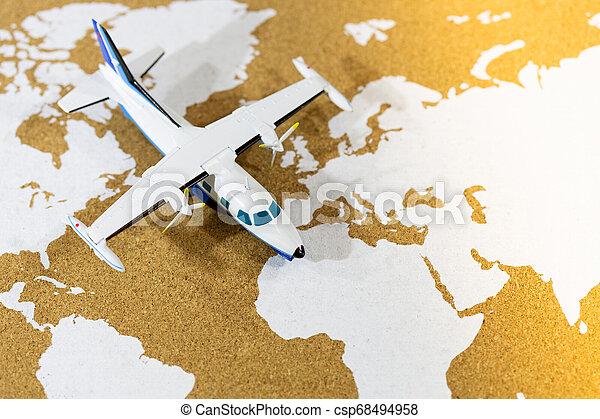 mapa, mundo - csp68494958
