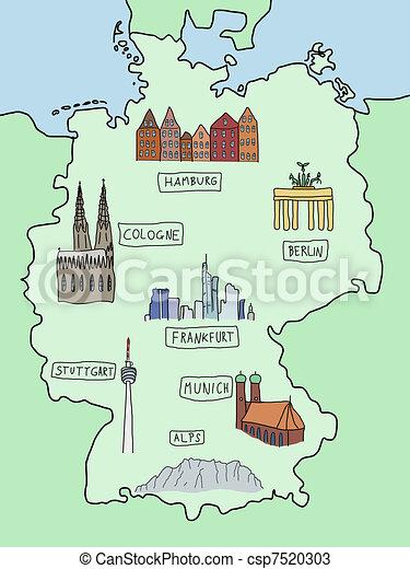 Kolonia mapa niemcy europy Kolonia Niemcy