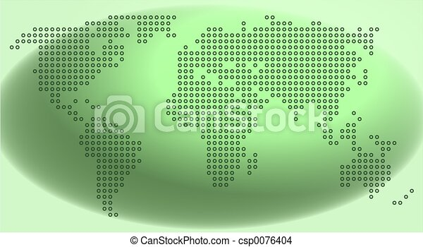 mapa, tečka - csp0076404