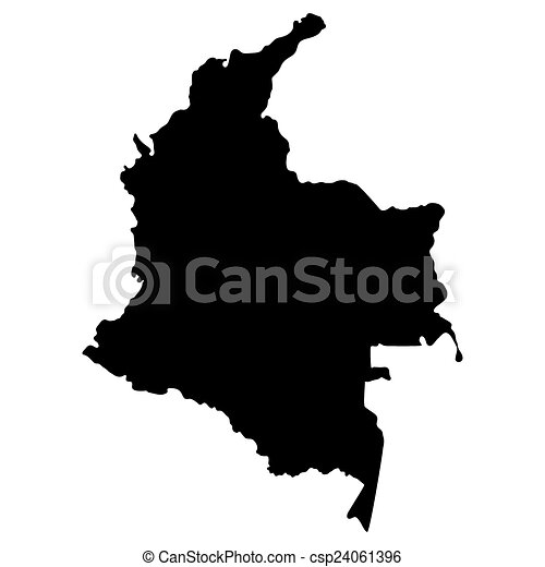 Mapa del distrito de Columbia - csp24061396