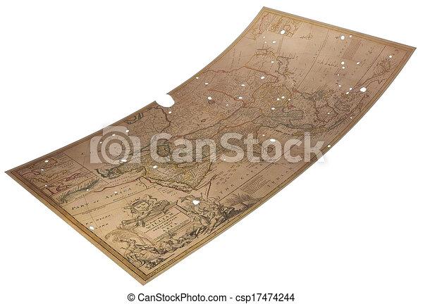 Mapa vieja - csp17474244