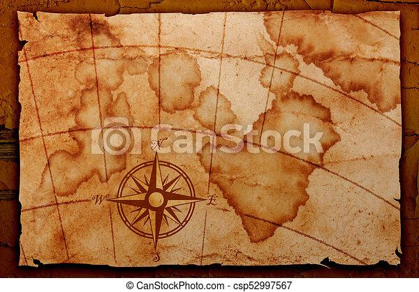 Mapa vieja - csp52997567