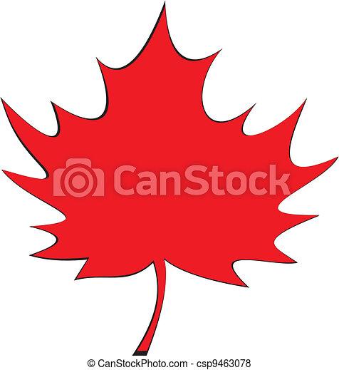 Maple leaf - csp9463078