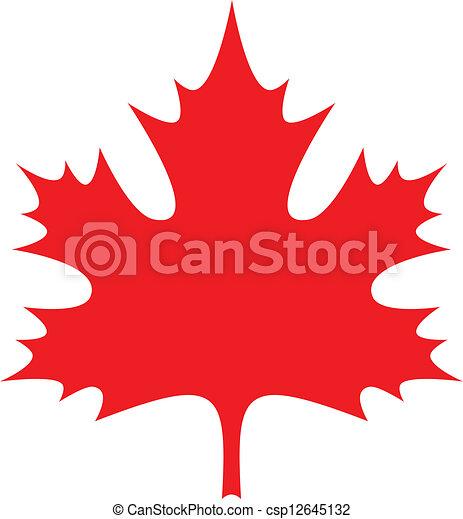 Maple Leaf - csp12645132