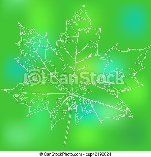 maple leaf - csp42192624