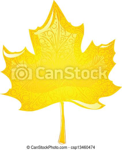 maple leaf - csp13460474