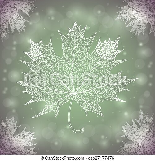 Maple leaf - csp27177476
