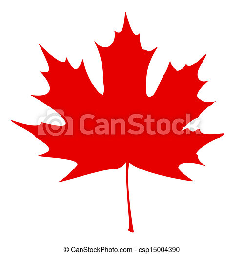 red maple leaf on a white background eps vector search clip art rh canstockphoto com maple leaf clipart maple leaf clipart png