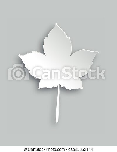 Maple leaf - csp25852114