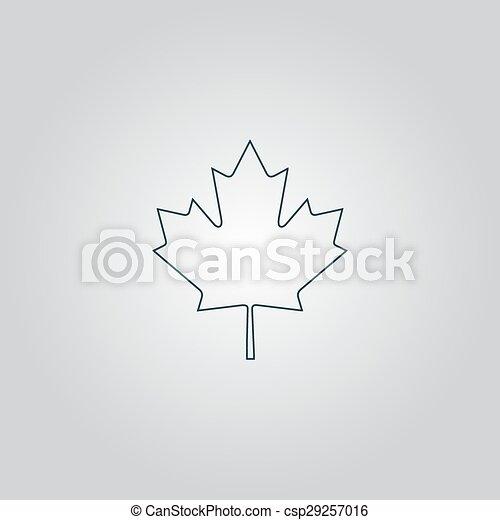 maple leaf - csp29257016