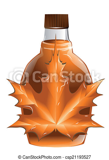 maple syrup isolated on a white background rh canstockphoto com maple syrup tree clip art Maple Syrup Bottle
