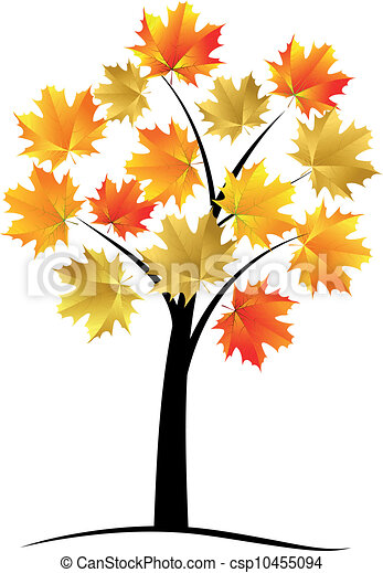 maple tree autumn leaf vector eps vectors search clip art rh canstockphoto com maple leaf tree clip art maple tree clip art free
