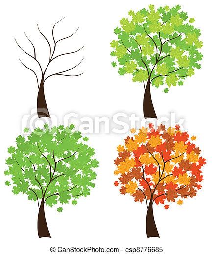 maple trees - csp8776685