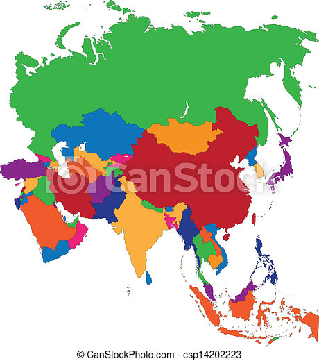 mappa, asia - csp14202223