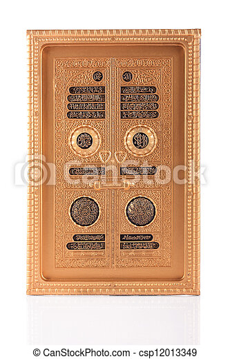 Maquette golden door of Kaaba in Makkah, Saudi Arabia - csp12013349