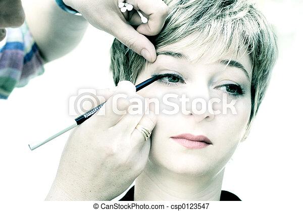 maquillaje - csp0123547