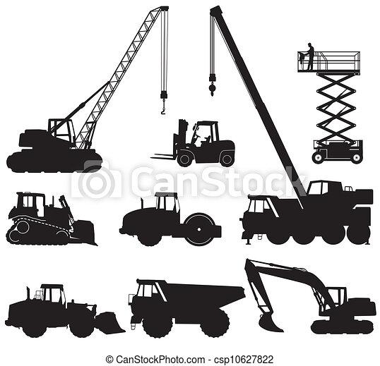 maquinaria construção - csp10627822