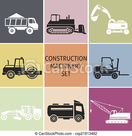 maquinaria construção - csp21813462
