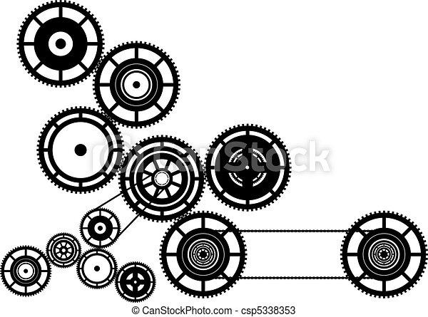 Máquinas - csp5338353